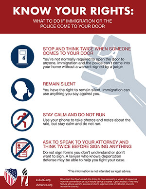 What to Do if Immigration or the Police Come to Your Door